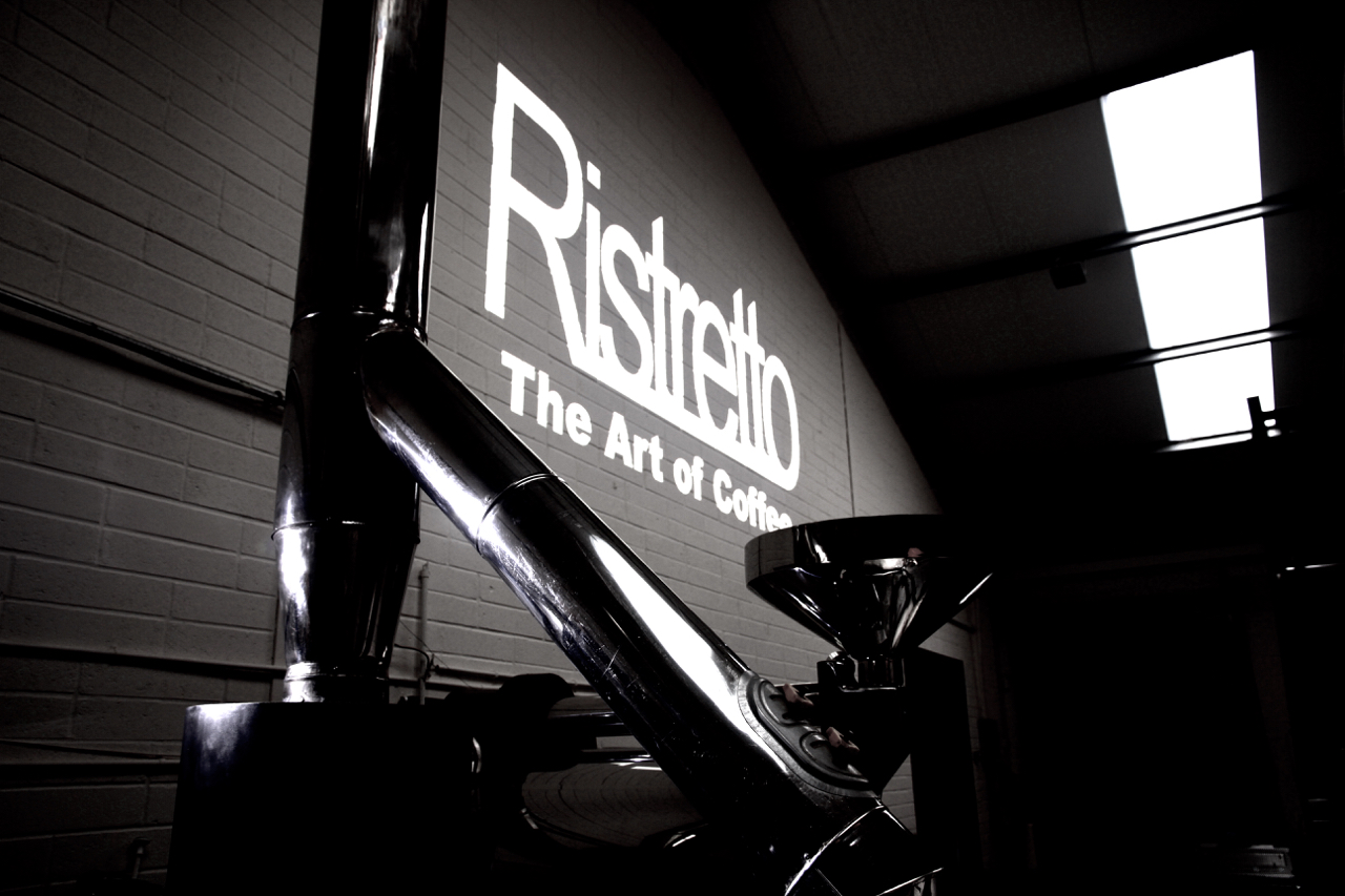 The Roastery with logo